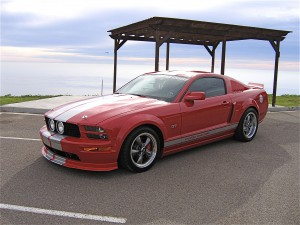 Customized Mustang GT