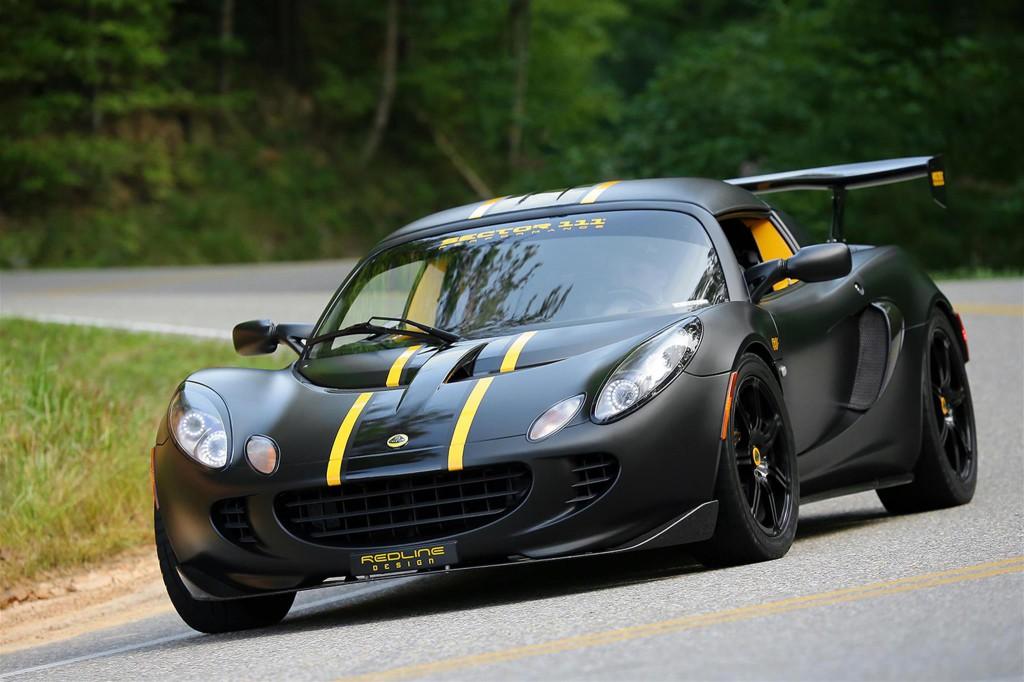 Lotus Elise with Carbon Fiber