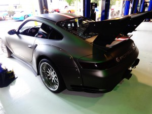 Porsche 911 Turbo 996 Widebody