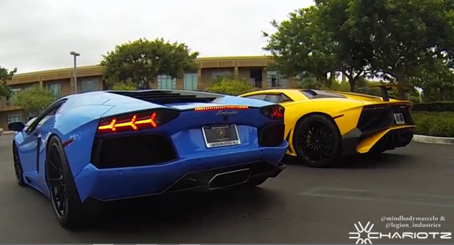 Worlds First Lamborghini Aventador SV In Action