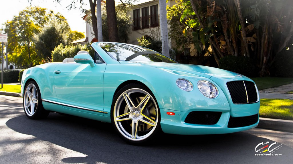 Bentley Continental GT with CEC Wheels