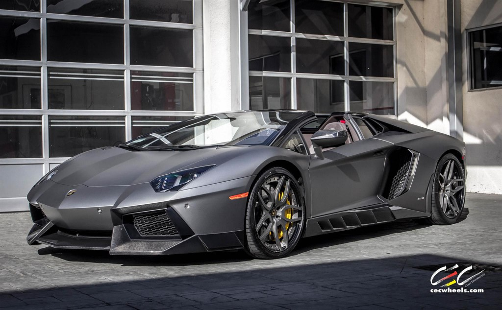 Lamborghini Aventador with CEC Wheels