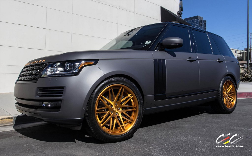 Land Rover Range Rover with CEC Wheels