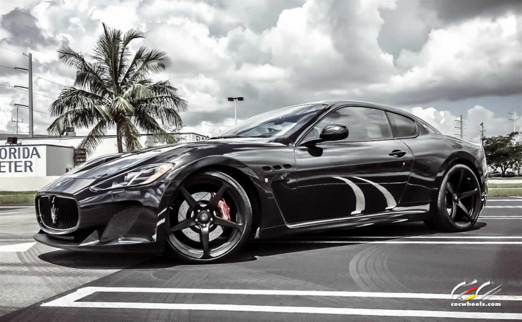 Maserati GranTurismo with CEC Wheels