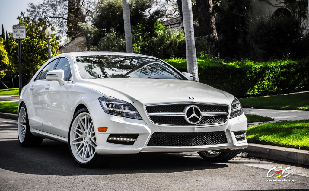 Mercedes Benz CLS550 with CEC Wheels
