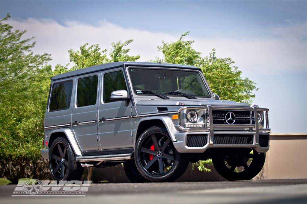 Wheel Specialists Inc. Mercedes Benz G63