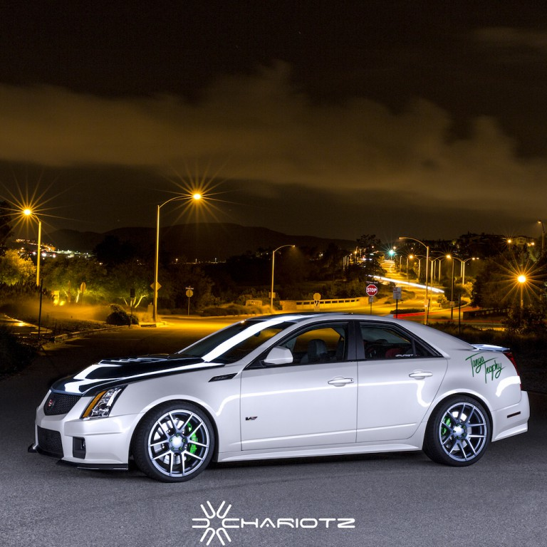 Cadillac CTS-V - Hunter Swift Photography
