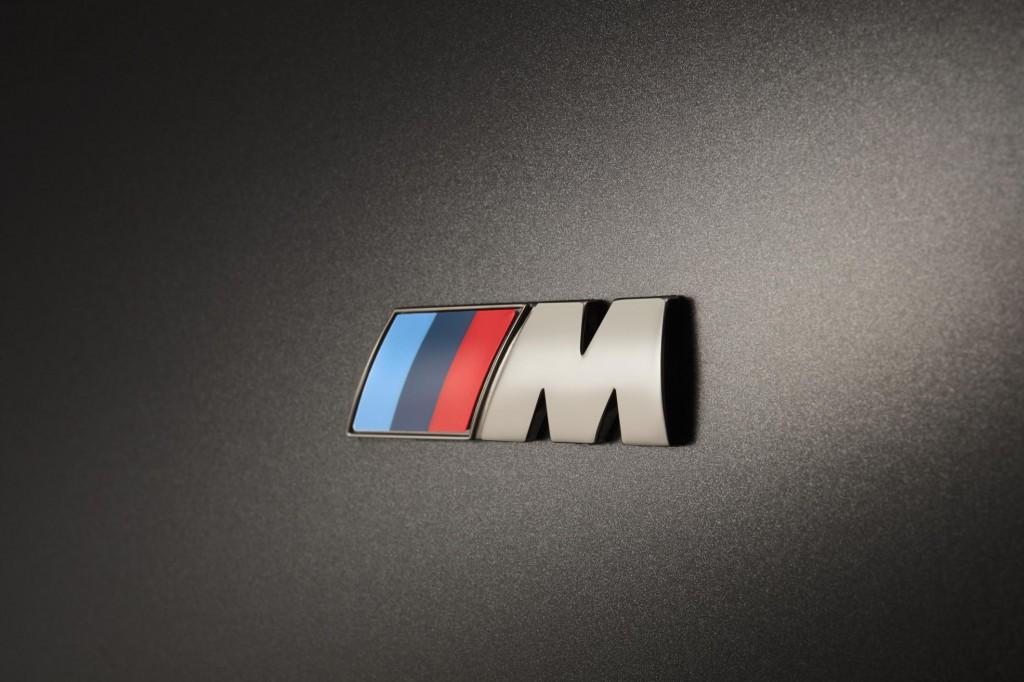 BMW M7 M Logo