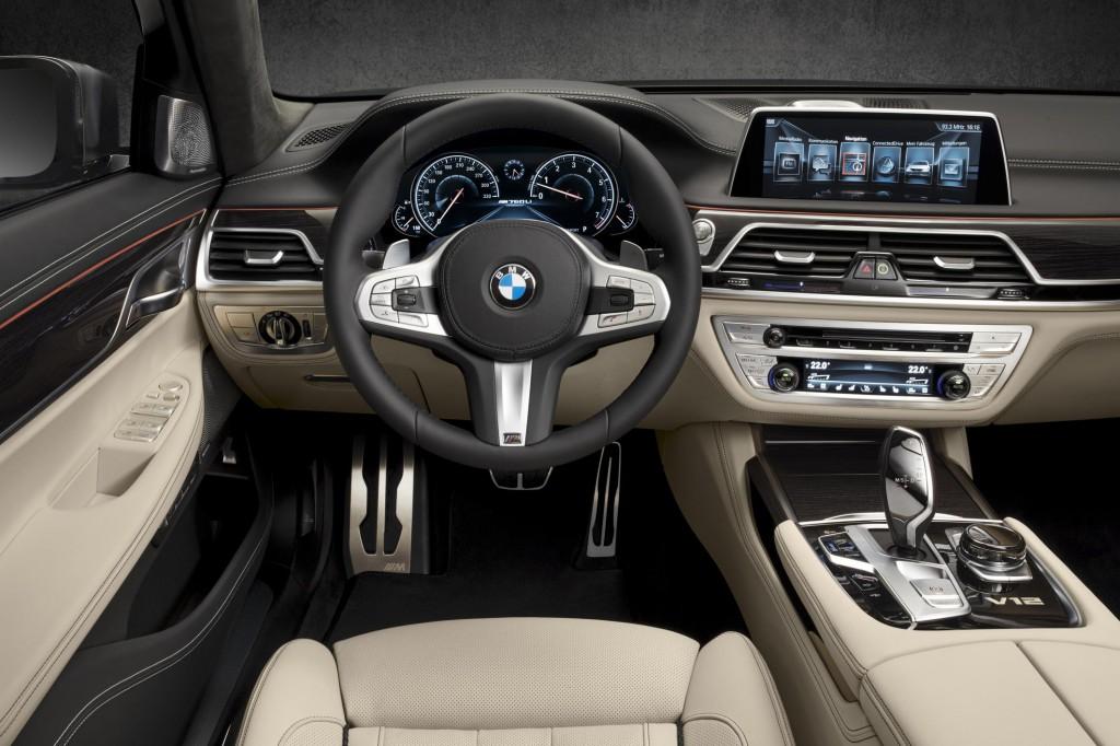 BMW M7 Cabin