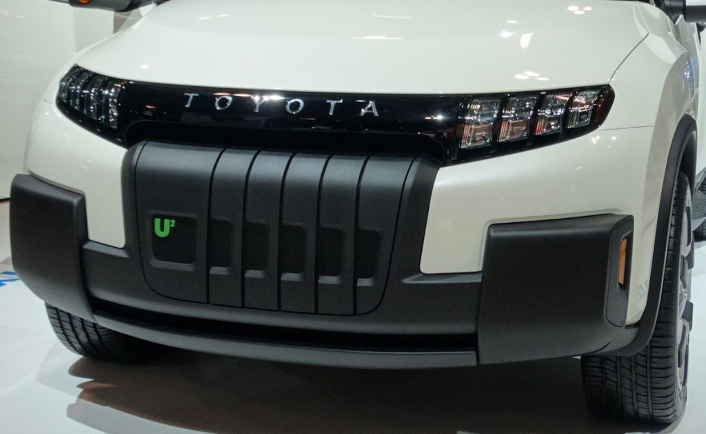 Toyota U-Squared Concept Front