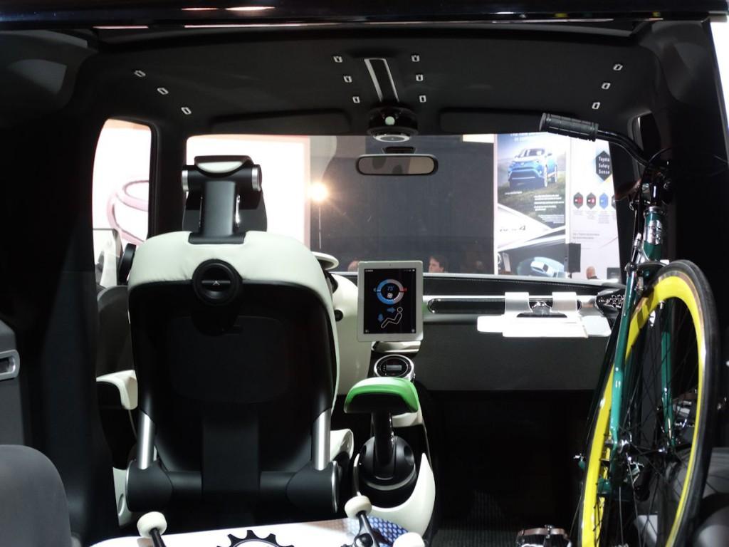 Toyota U-Squared Concept Interior