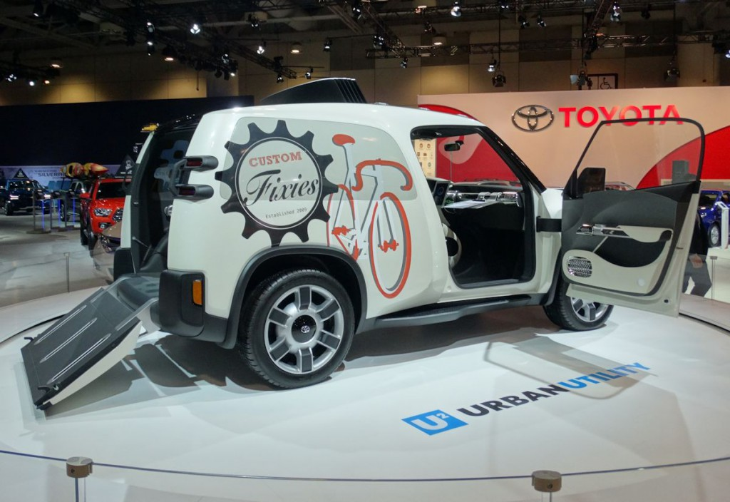Toyota U-Squared Concept at 2016 CIAS
