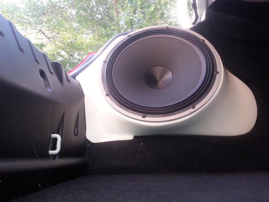 BMW 640i Gran Coupe Subwoofer by Sightwaves