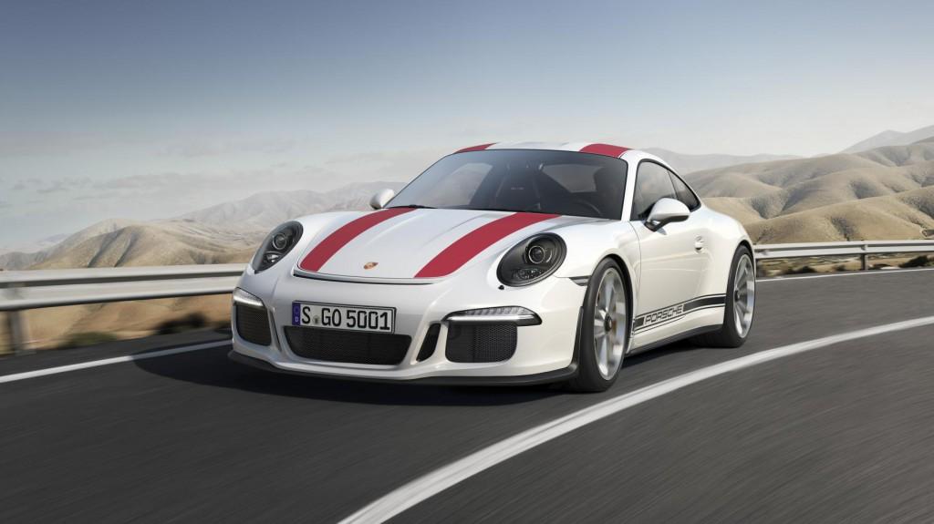2016 Porsche 911 R - Front View