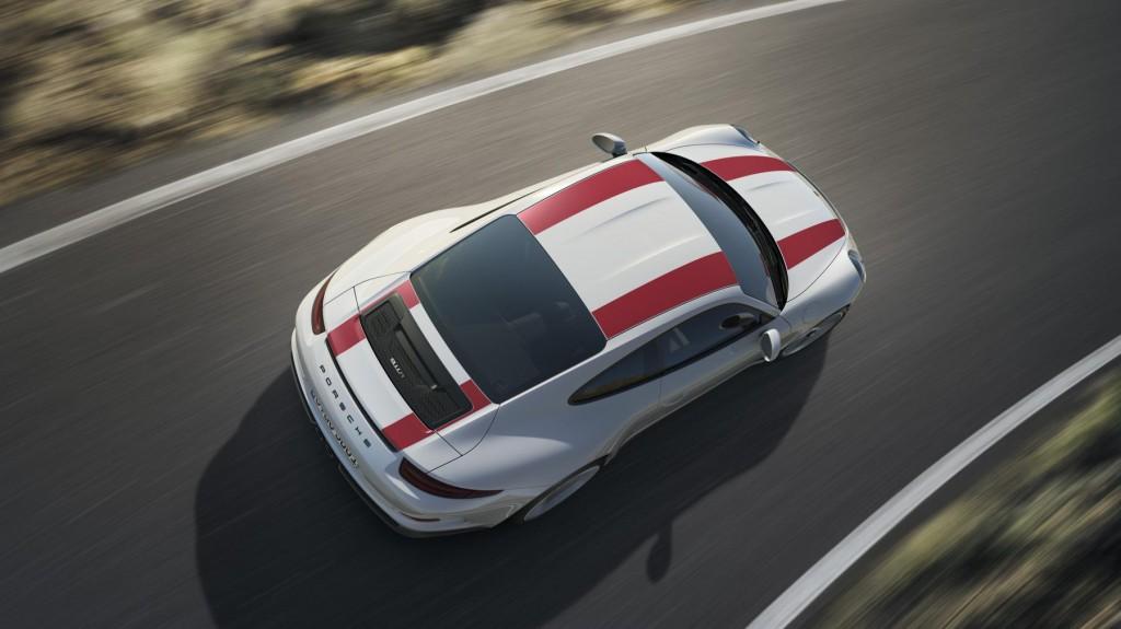 2016 Porsche 911 R - Top View