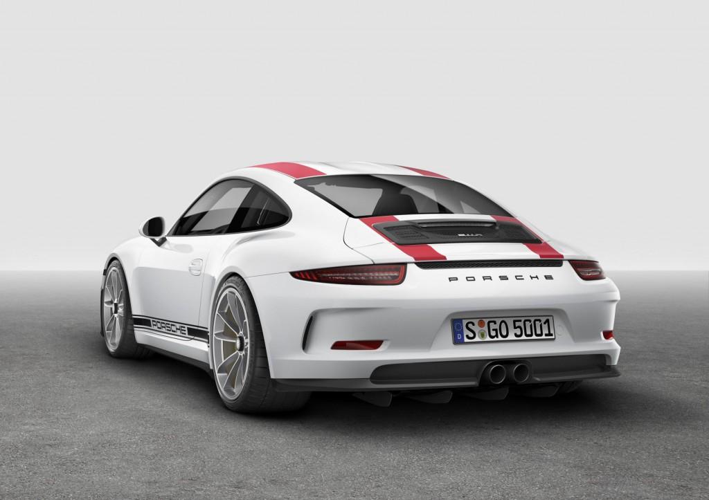 2016 Porsche 911 R - Rear View