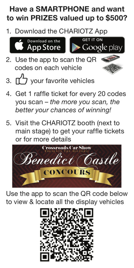 Benedict Castle Concours Flyer
