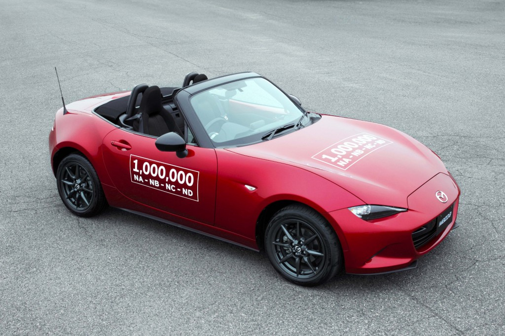 One Millionth Mazda Miata MX-5